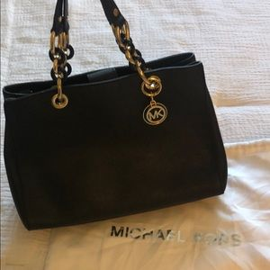 Michael Kors Black Saffiano Leather Bag